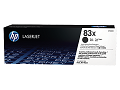 HP CF283X LASERJET 83X BLACK TONER CARTRIDGE