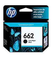 HPc CZ103AL 662 Black Ink Cartridge