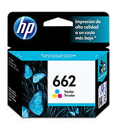 HPc CZ104AL 662 Tricolor Ink Cartridge