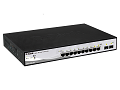 SMART III SWITCH10-PORTS GIGA 2-PORUTP/SFP; POE