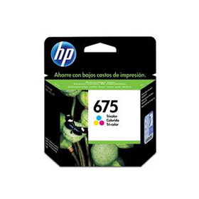 HP675 NEGRO INK OFFICEJET 4000 4575