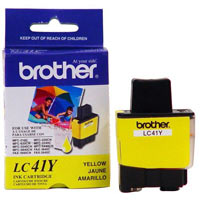 CARTRIDGE YELLOW LC41Y BROTHER