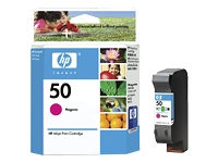 Cartridge Magenta HP 50 51650ML