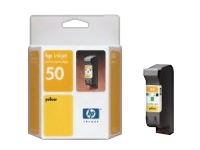 Cartridge Yellow HP 50 51650YL