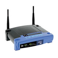 LINKSYS WRT54GL WIRELESS-G BROADBAND ROUTER WITH LINUX